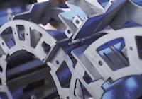 Blechbearbeitung Laserteile