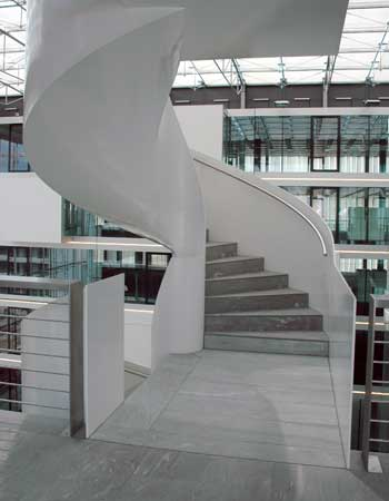 Stahltreppe Parkside, Zürich