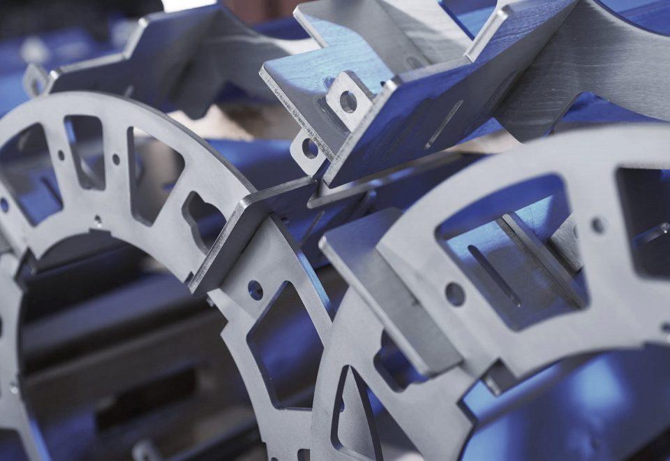Laserteile Konstruktionen